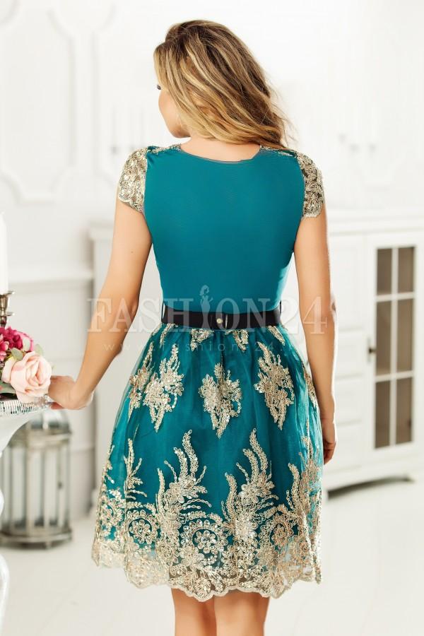Rochie de seara Bria verde