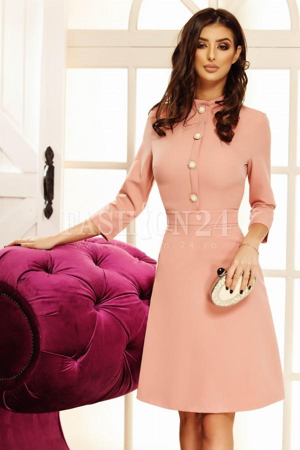 Rochie eleganta Anastasia roz