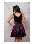 Rochie Love Velvet Purple