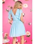Rochie eleganta azure in clos