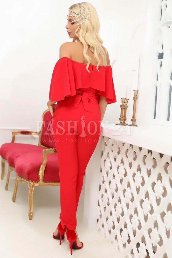 Salopeta de dama in nuante de rosie