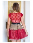 Rochie Baby Doll Love Red