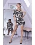 Salopeta leopard eleganta de seara