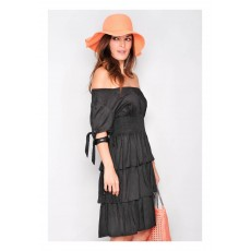 Rochie H.H.G. Summer Black Waves de la Adrom