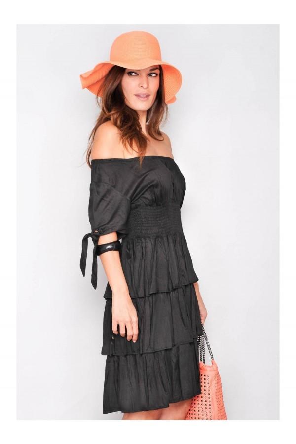 Rochie Summer Black Waves
