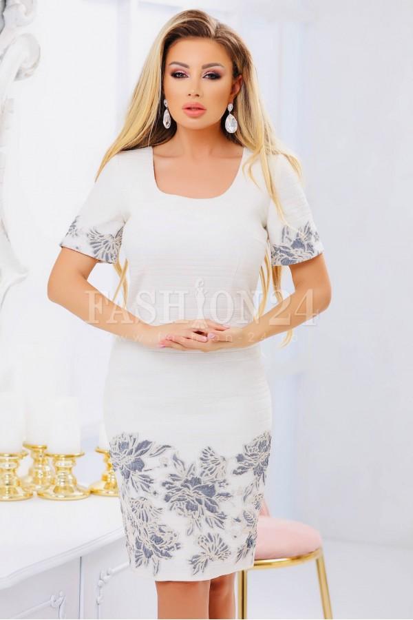 Rochie eleganta alba