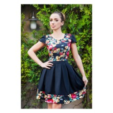 Rochie Baby Doll Love Flowers