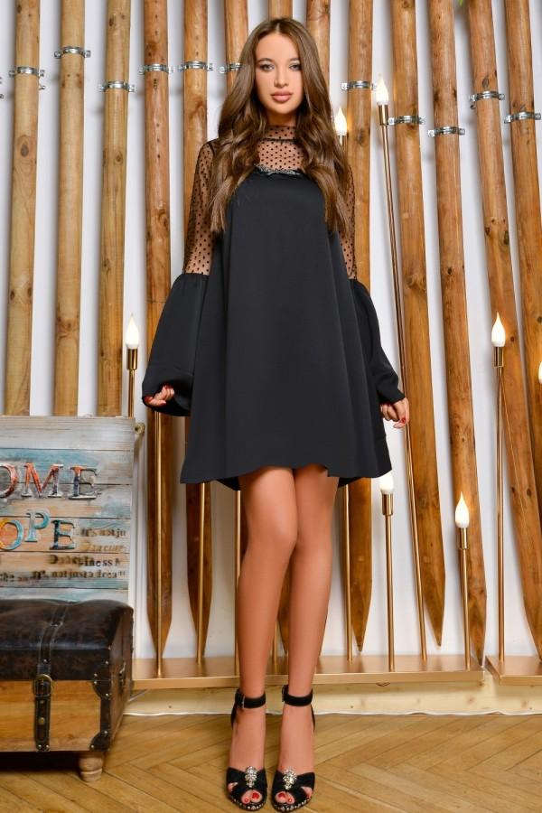 Rochie Xonia neagra eleganta