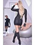 Rochie Ami eleganta in nuanta de negru