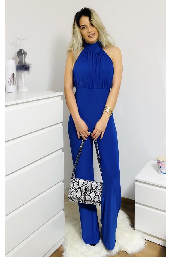 Salopeta eleganta de seara albastru royal