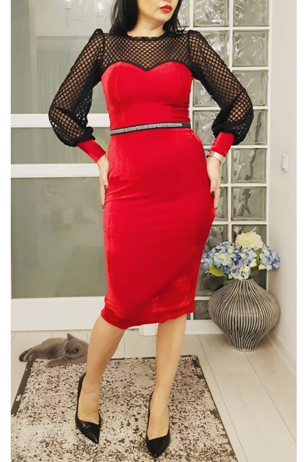 Rochie De Seara Red Velvet