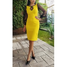 Rochie  Yellow Evening thumbnail