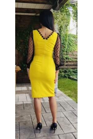 Rochie  Yellow Evening