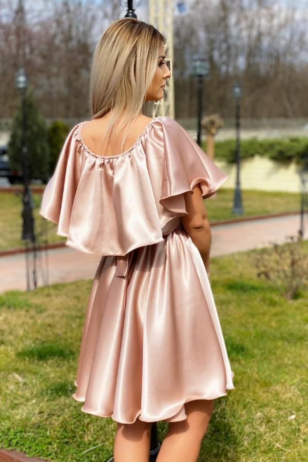 Rochie Andreea in nuante de rose