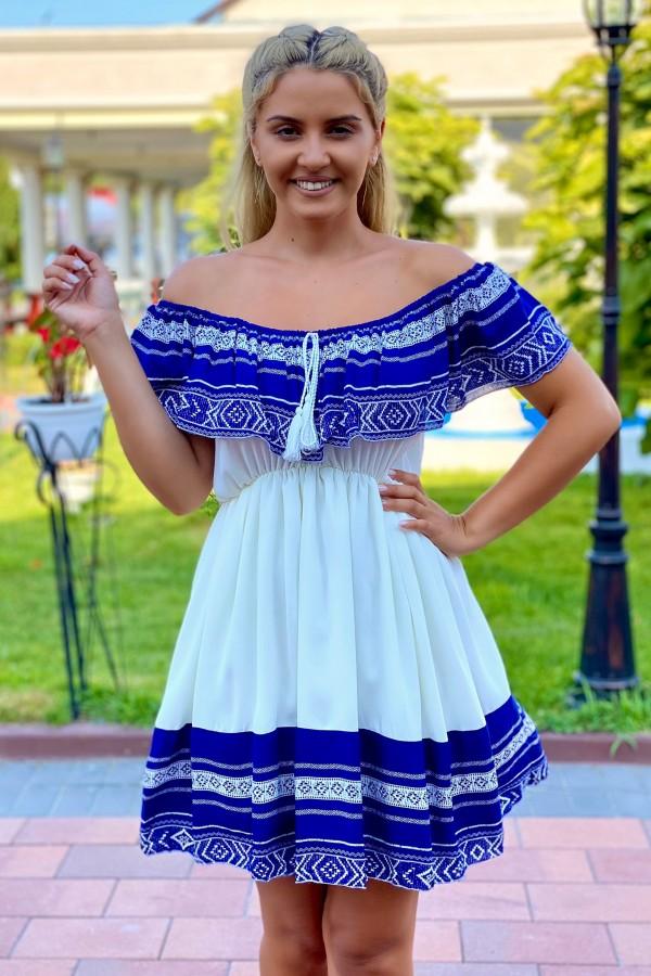 Rochie Sanda alba traditionala