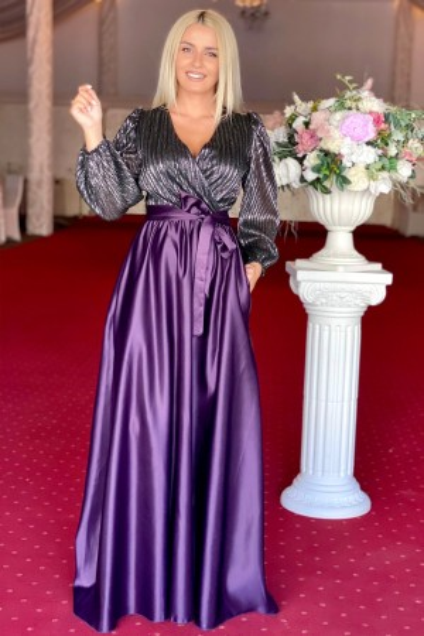 Rochie eleganta lunga Deea