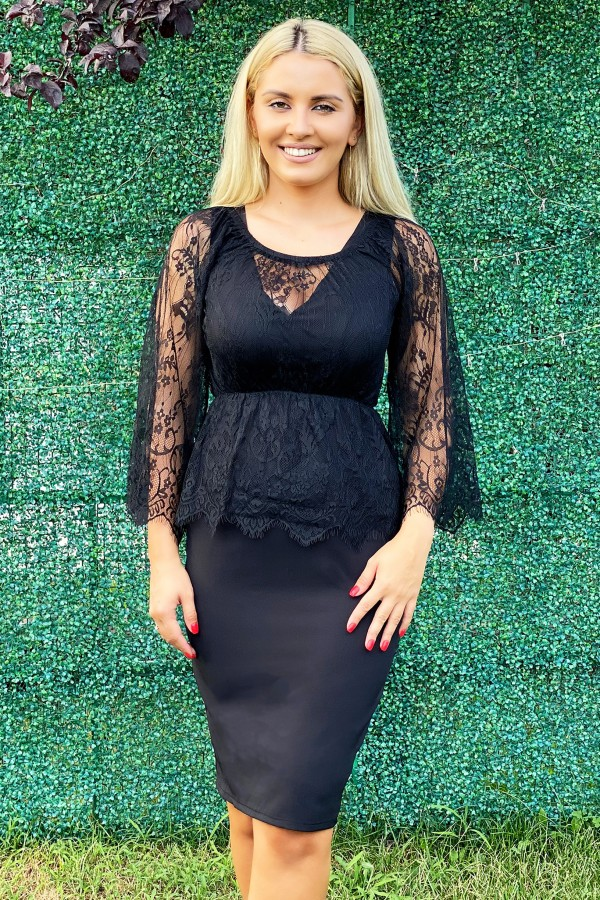 Rochie Black just Lovely