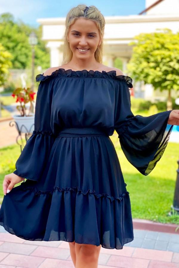 Rochie eleganta neagra Sara
