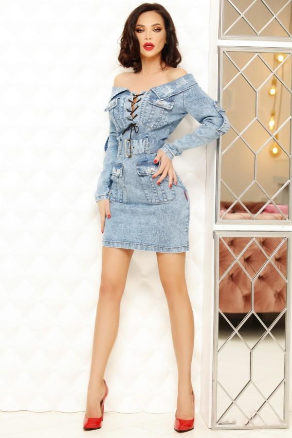 Rochie denim Sarah jeans