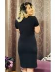 Rochie Elena negru cu mustar eleganta