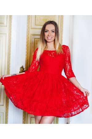 Rochie Like Baby Doll Red