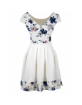 Rochie Baby Doll Blue Flowers
