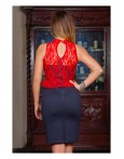 Rochie Be Office Red