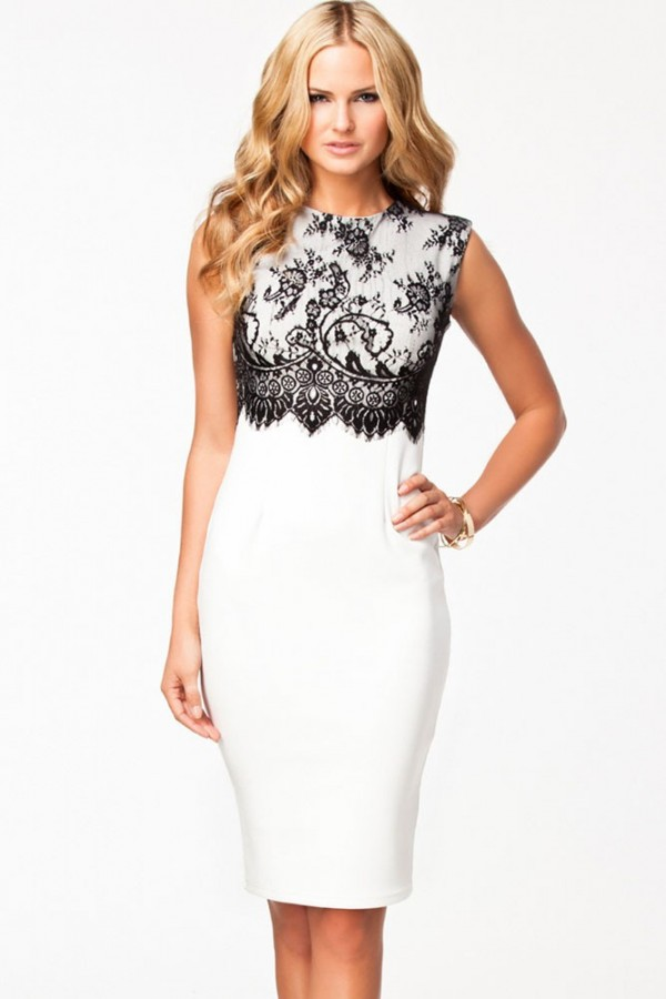 Rochie White Strong