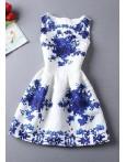 Rochie Baby Doll Blue Dream