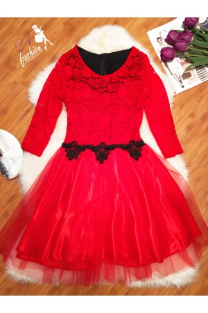 Rochie Red Lady