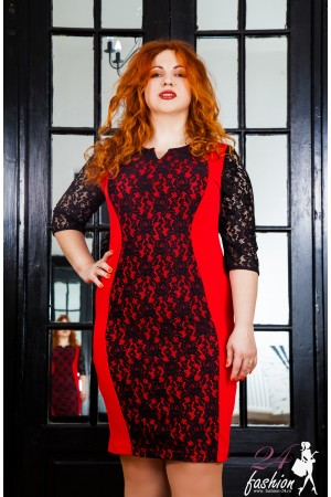Rochie XXL Red Intensity