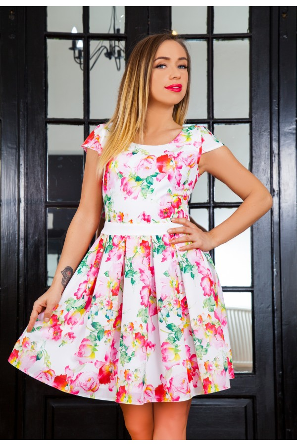Rochie White Another