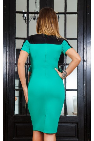 Rochie Green Style