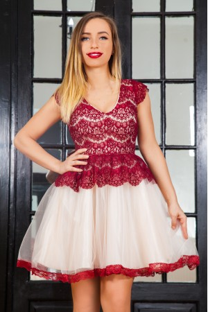 Rochie Typical Burgundy