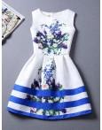 Rochie Eleganta Blue Lines