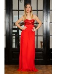 Rochie Long Attraction Red