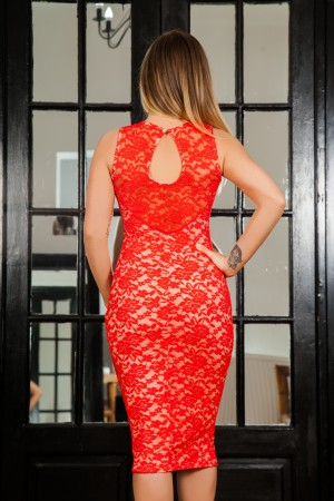 Rochie Light Red