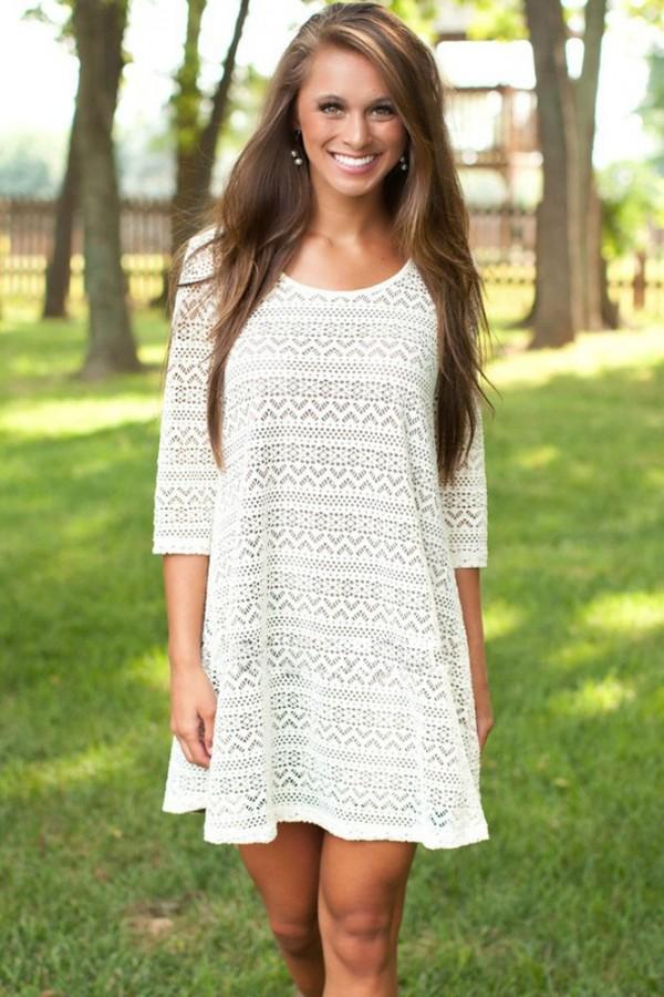 Rochie Eleganta White Summer Fashion-24.ro