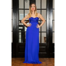 Rochie Long Attraction Blue thumbnail
