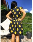 Rochie Eleganta Big Bubbles Yellow