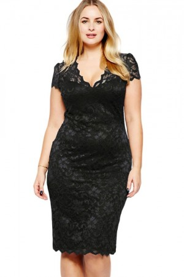 Rochie De Seara XL Black Lace