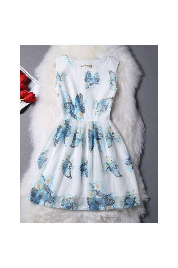 Rochie Eleganta Love Butterflies