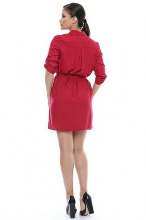 Rochie Office Red  Star