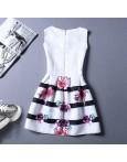 Rochie Eleganta Black Stripes