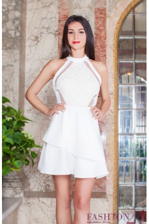 Rochie De Seara White Misterious