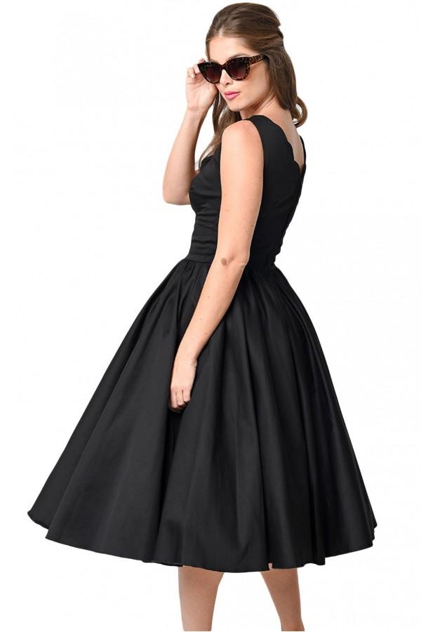 Rochie Eleganta Vintage Black