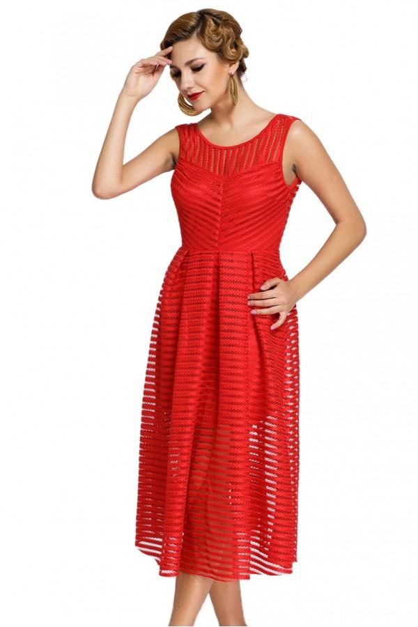 Rochie Midi Red Choice