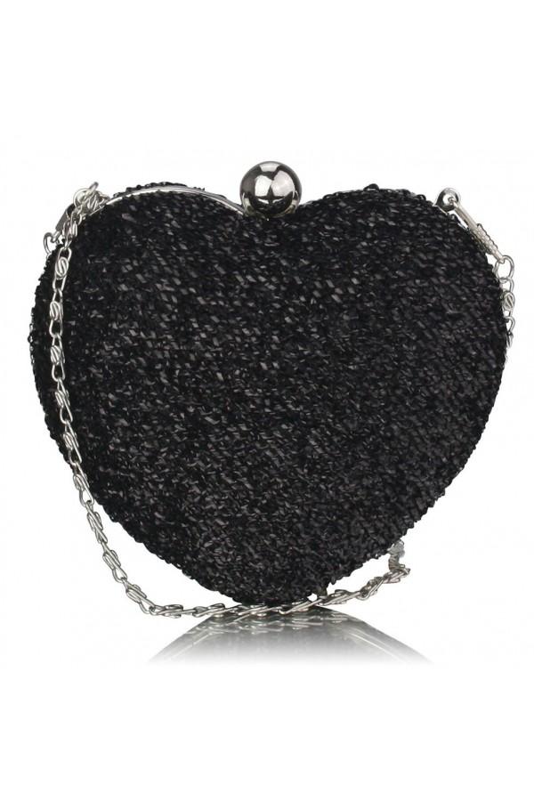 Clutch Black Heart
