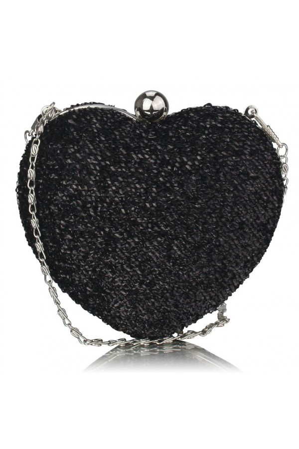 Clutch Black Heart