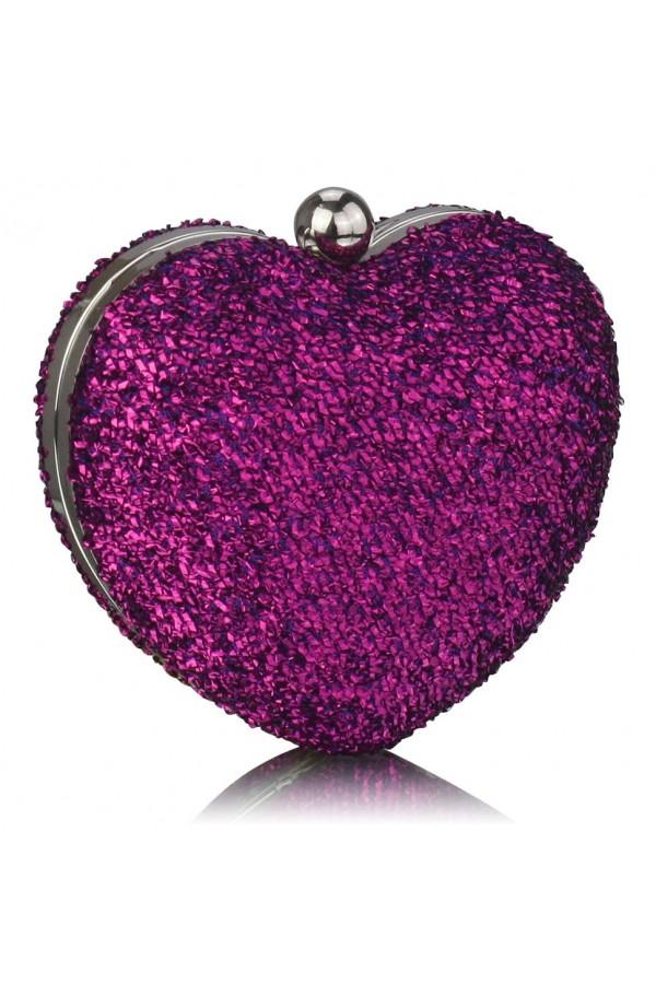 Clutch Purple Heart